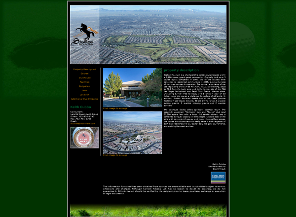 stallion mountain golf course screen shot